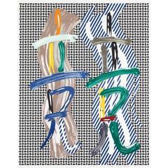 Roy Lichtenstein - Brushstroke Contest 1989