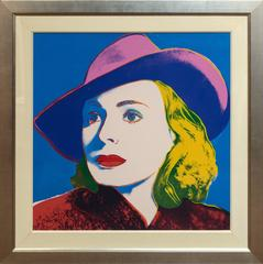 Andy Warhol - Ingrid Bergman With Hat 1983 F&S II.315