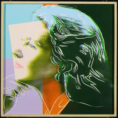 Andy Warhol - Ingrid Bergman Herself 1983 F&S II.313