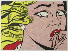 Roy Lichtenstein - Crying Girl
