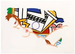 Monica Nude with Lichtenstein