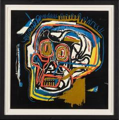 After Jean Michel Basquiat - Head