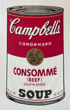 Campbell's Soup I Consomme (Beef) F&S II.52