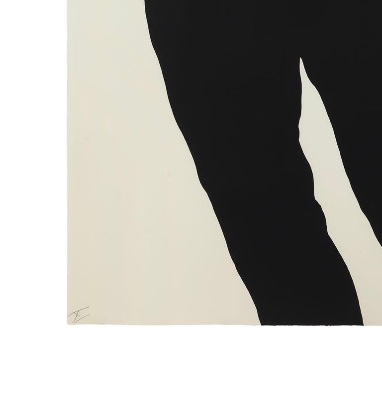 Meryl and Jonathan, from Men in the Cities - Beige Portrait Print by Robert Longo