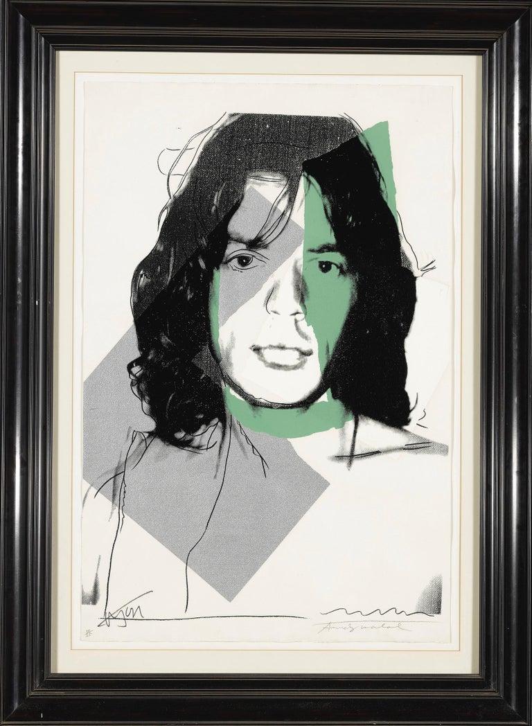 Mick Jagger F&S II.138 - Print by Andy Warhol