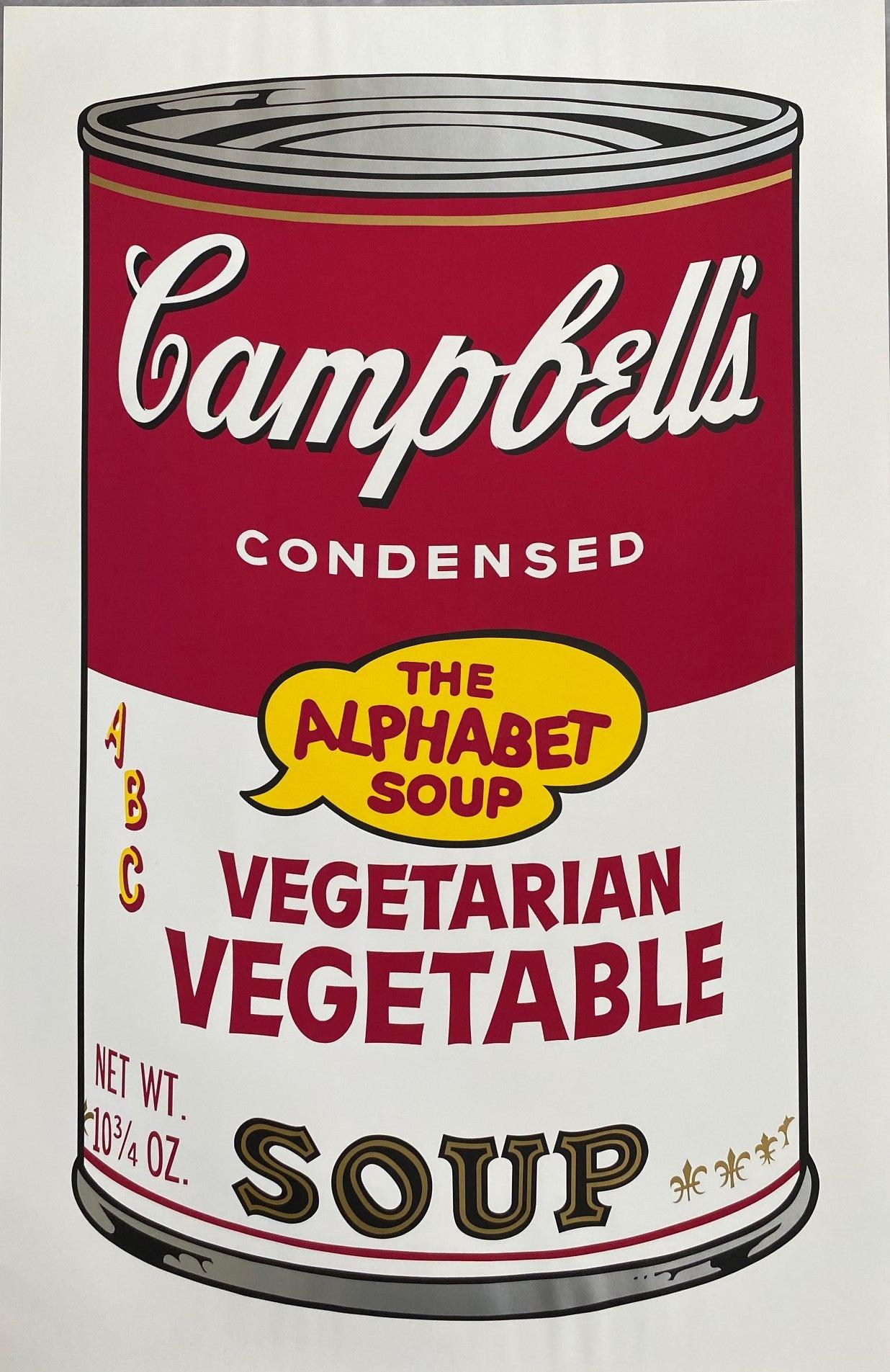 Campbell's Soup II, Vegetarian Vegetable F&S II.56