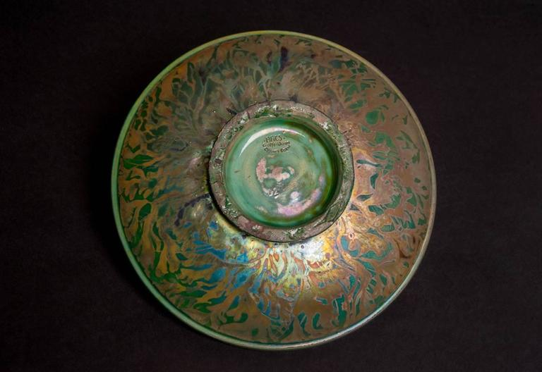 Iridescent Ocean Bowl For Sale 3
