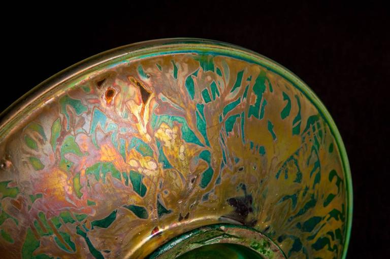 Iridescent Ocean Bowl For Sale 4