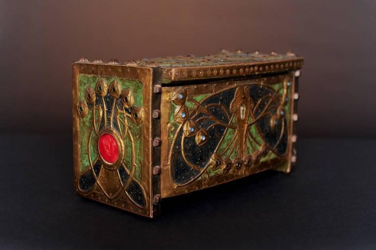 Butterfly Box - Art Nouveau Art by Alfred Daguet