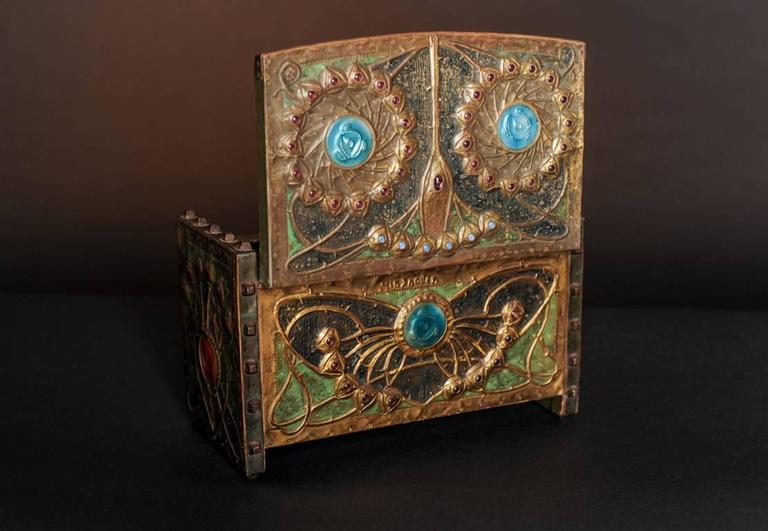 Butterfly Box - Art by Alfred Daguet