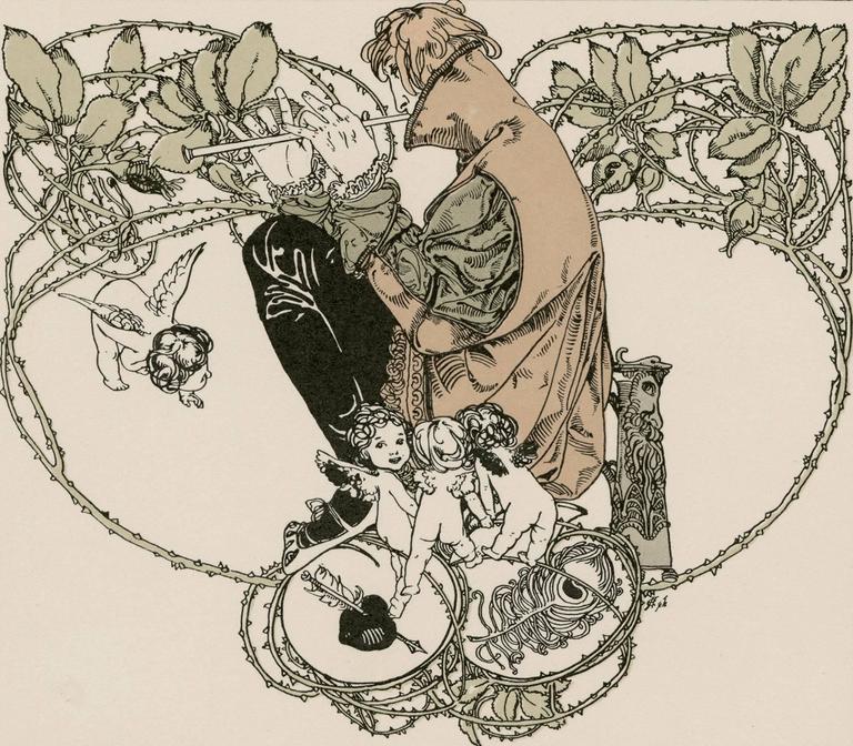 Gerlach's Allegorien Plate #114: