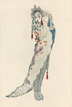"""Ballet und Pantomime """"Tschaikiun I"""", print #3."""