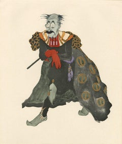 """Ballet und Pantomime """"Der bose Zauberer"""" (The Evil Wizard), plate #6."""