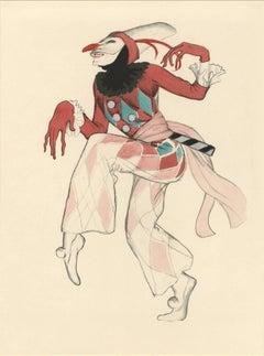 "Ballet und Pantomime ""Harlekin"", plate #10."