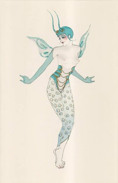 "Ballet und Pantomime ""Grille"" (Cricket), plate #13."