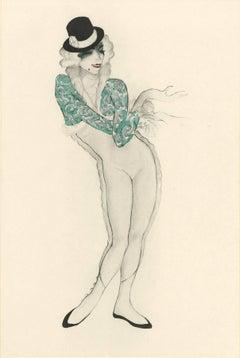 """Ballet und Pantomime """"Walzer"""", plate #21."""