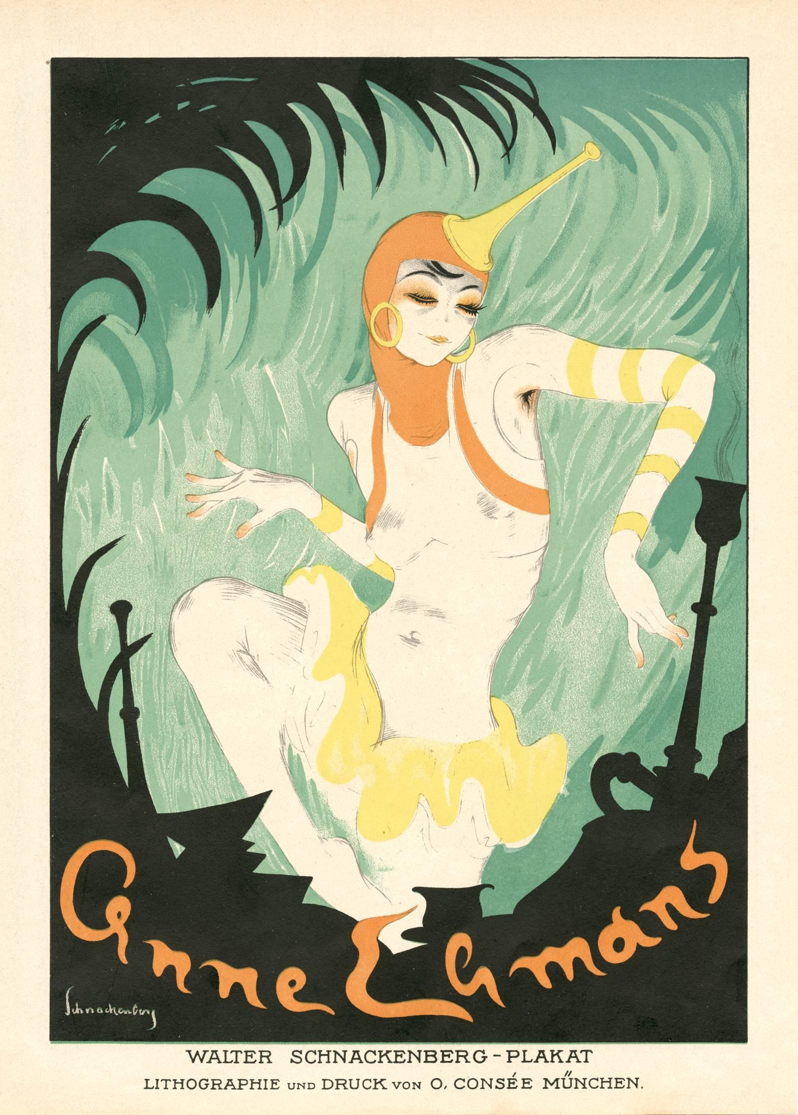 """Kostume, Plakate, und Dekorationen, """"Anne Lemons"""""""