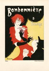 """Kostume, Plakate, und Dekorationen, """"Cabaret Bonbonniere"""""""
