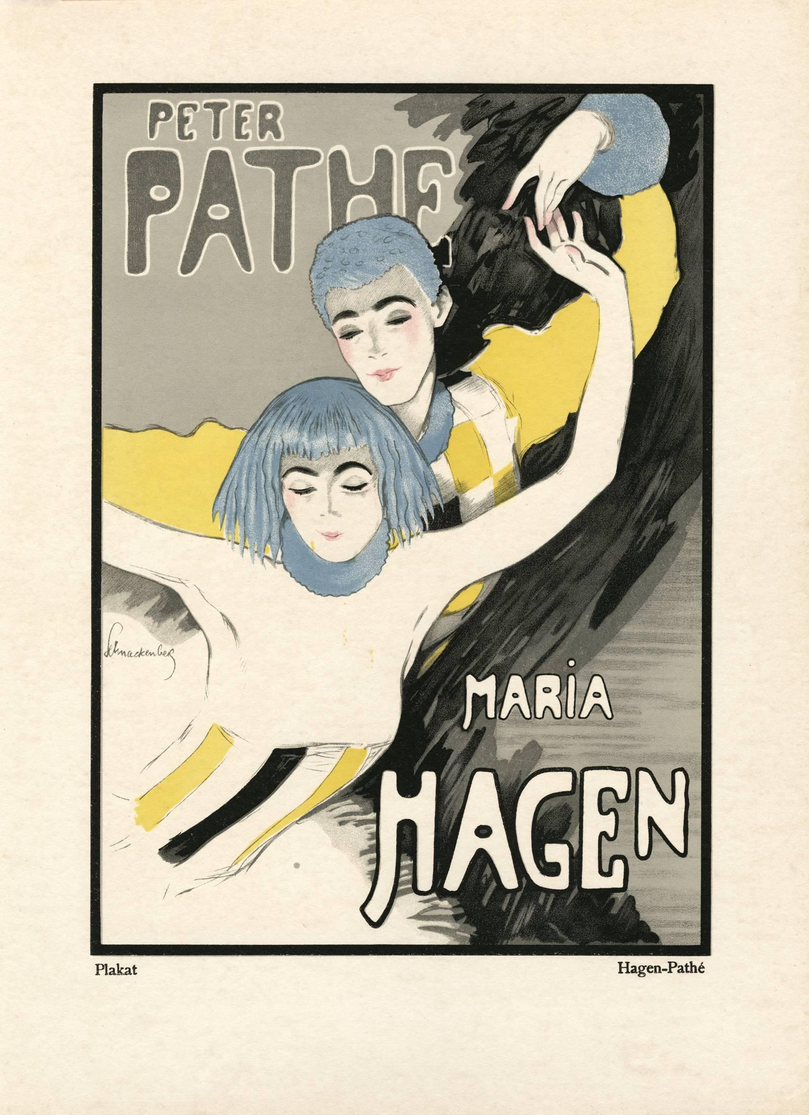 """Kostume, Plakate, und Dekorationen, """"Hagen-Pathe"""""""