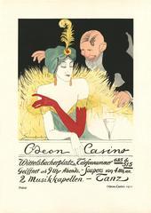 """Kostume, Plakate, und Dekorationen, """"Odeon-Casino 1911"""""""