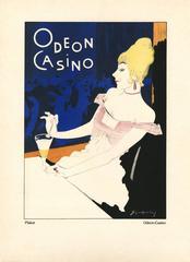 """Kostume, Plakate, und Dekorationen, """"Odeon-Casino"""""""