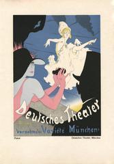 """Kostume, Plakate, und Dekorationen, """"Deutsches Theater"""""""