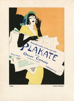 """Kostume, Plakate, und Dekorationen, """"Consee"""""""