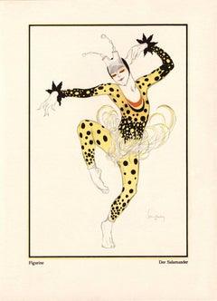 """Kostume, Plakate, und Dekorationen, """"Der Salamander"""""""
