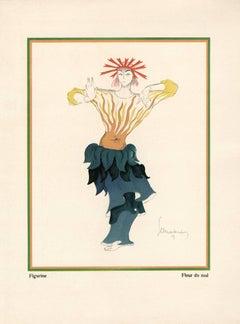 """Kostume, Plakate, und Dekorationen, """"Flower of Evil"""""""