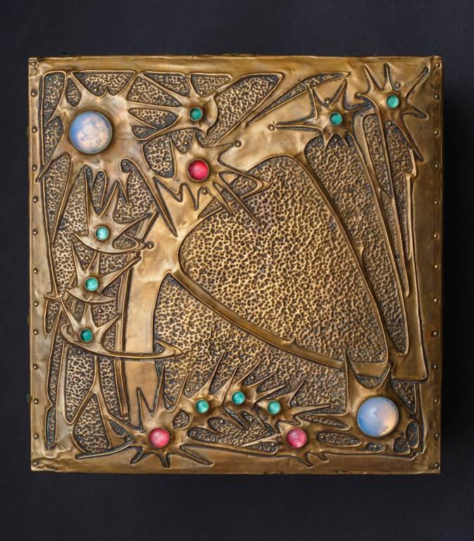 Star-gazer Box - Art by Alfred Daguet