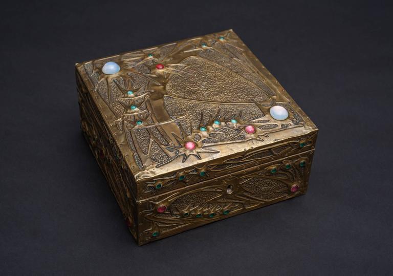 Star-gazer Box - Art Nouveau Art by Alfred Daguet