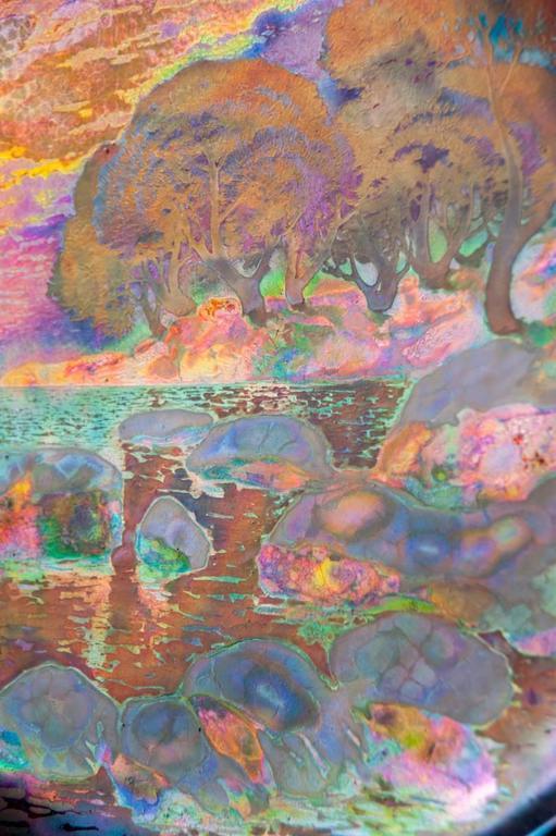 Japonist Charger - Art Nouveau Art by Clement Massier