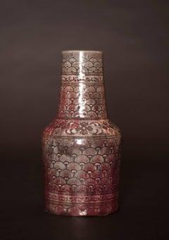 Shell Pattern Vase