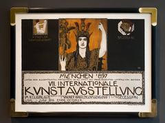 POSTER FOR VII INTNL ART EXHIBITION OF MUNICH ARTISTS ASSOCIATION & SECESSION