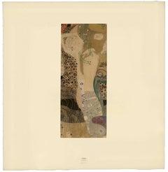 "H.O. Miethke Das Werk folio ""Water Snakes I"" collotype print"