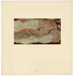 "H.O. Miethke Das Werk folio ""Water Snakes II"" collotype print"
