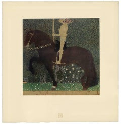 "H.O. Miethke Das Werk folio ""Life is a Struggle"" collotype print"