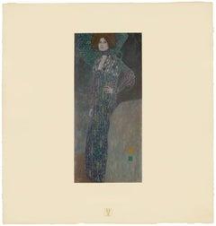 "H.O. Miethke Das Werk folio ""Portrait of Emilie Flöge"" collotype print"