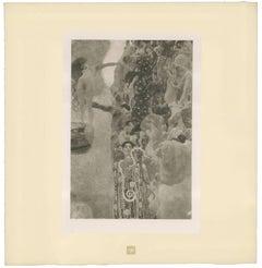 "H.O. Miethke Das Werk folio ""University of Vienna Murals"" 3 collotype prints"