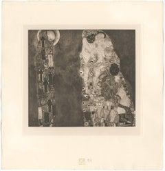 "H.O. Miethke Das Werk folio ""Death and Life"" collotype print"