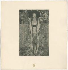 "H.O. Miethke Das Werk folio ""Portrait of Adele Bloch-Bauer II"" collotype print"