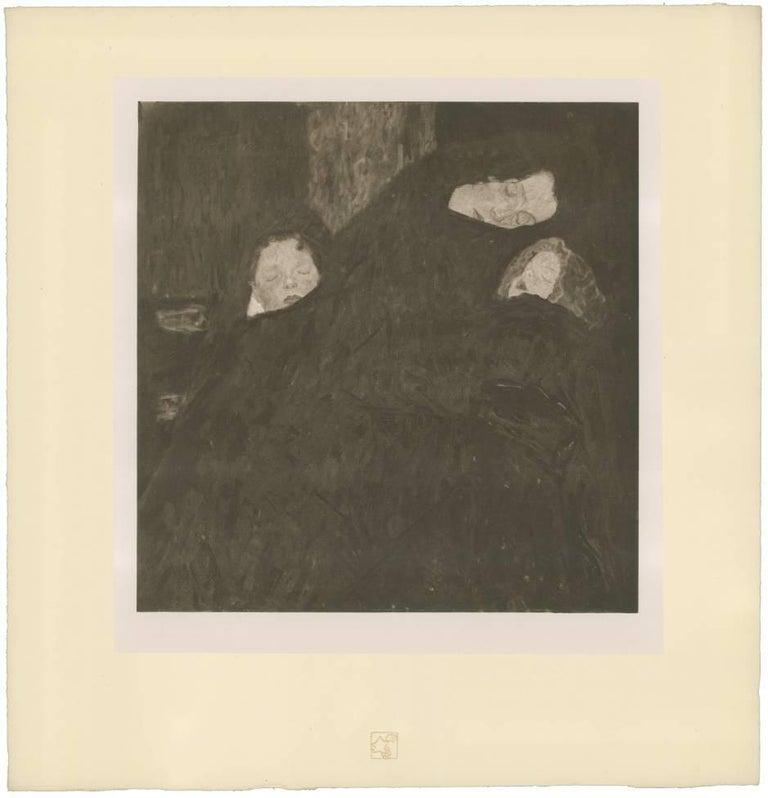 "H.O. Miethke Das Werk folio ""The Family"" collotype print"
