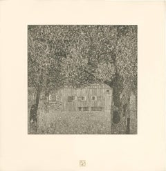 "H.O. Miethke Das Werk folio ""Farm House in Buchberg"" collotype print"
