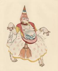 """Ballet und Pantomime """"Der Gute Zauberer"""" (The Good Wizard), plate #5."""