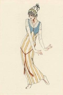 "Ballet und Pantomime ""Primula Vera"", plate #7."