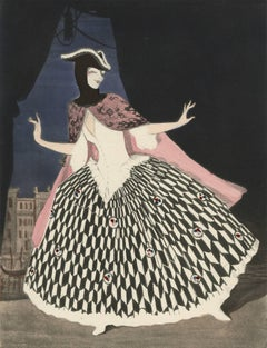"Ballet und Pantomime ""Maskerade"", plate #9."