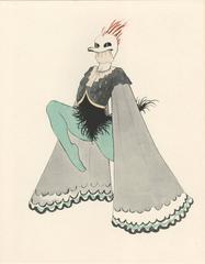 """Ballet und Pantomime """"Spukgestalt"""" (Ghostly Figure), plate #12."""