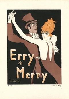 """Kostume, Plakate, und Dekorationen, """"Erry & Merry"""""""