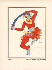 """Kostume, Plakate, und Dekorationen, """"Joachim von Seewitz"""""""