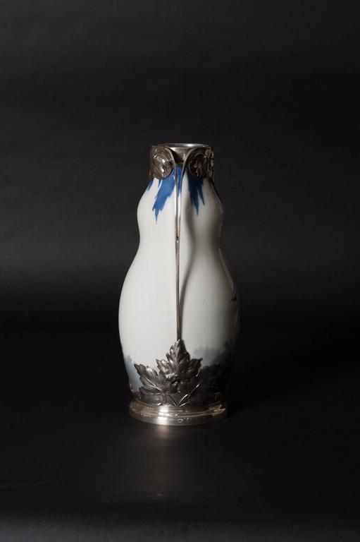 Maple Leaf Vase - Art Nouveau Art by Royal Copenhagen